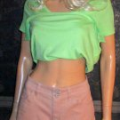 Victoria's Secret Stretch Cotton Amaretto Hipster Cuff Short 0 279559