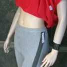 Victoria's Secret $70 Colorblock Grey Ribbed Legging Pants XL Short  306938