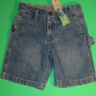 NWT Greendog Vintage Denim Cargo Jean Shorts 4T 936616