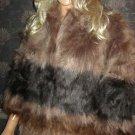 Victoria's Secret $178 Raccoon Faux Fur Jacket Medium/Large 285905