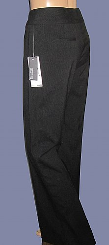 NWT $89 Kenneth Cole Reaction Black Pants Size 6 663181