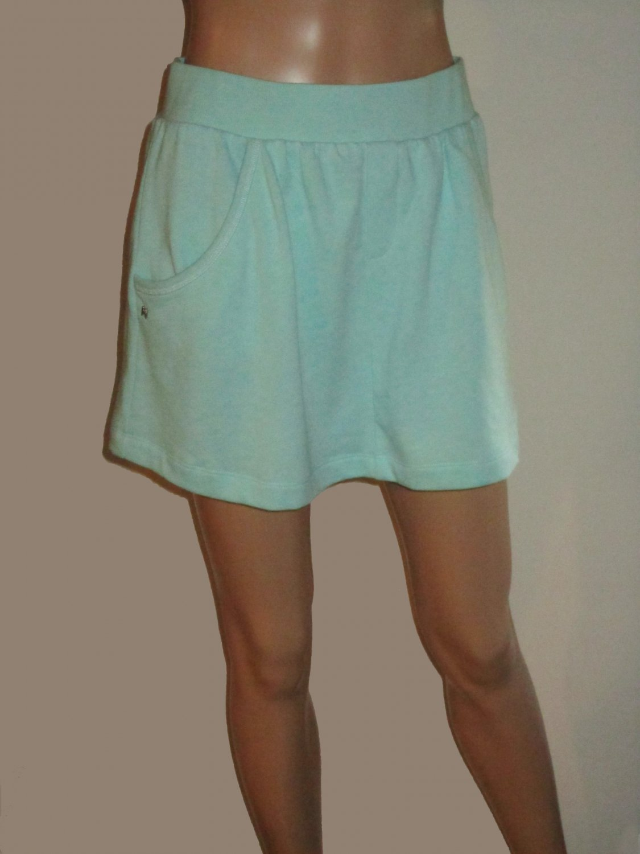 Victoria's Secret Casual Yoga Fleece Skirt with Pockets Aqua Size XS 299421