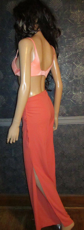 Victoria�s Secret $68 Orange Coral Sexy Jersey Pants Small  158675
