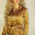 Victoria's Secret $148 Belted Bronze Jacket Blazer 14  192640
