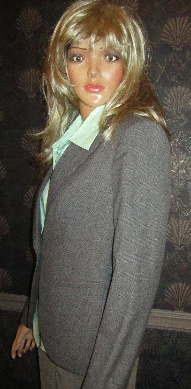 Victoria�s Secret $128 Seasonless Glen Plaid Black & White Jacket Blaze 6  213110