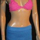 Victoria's Secret $39 Royal Blue Exercise Skort Small  210099