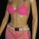 Victoria's Secret Pink Polka Dot Triangle Bikini Top XS 269642