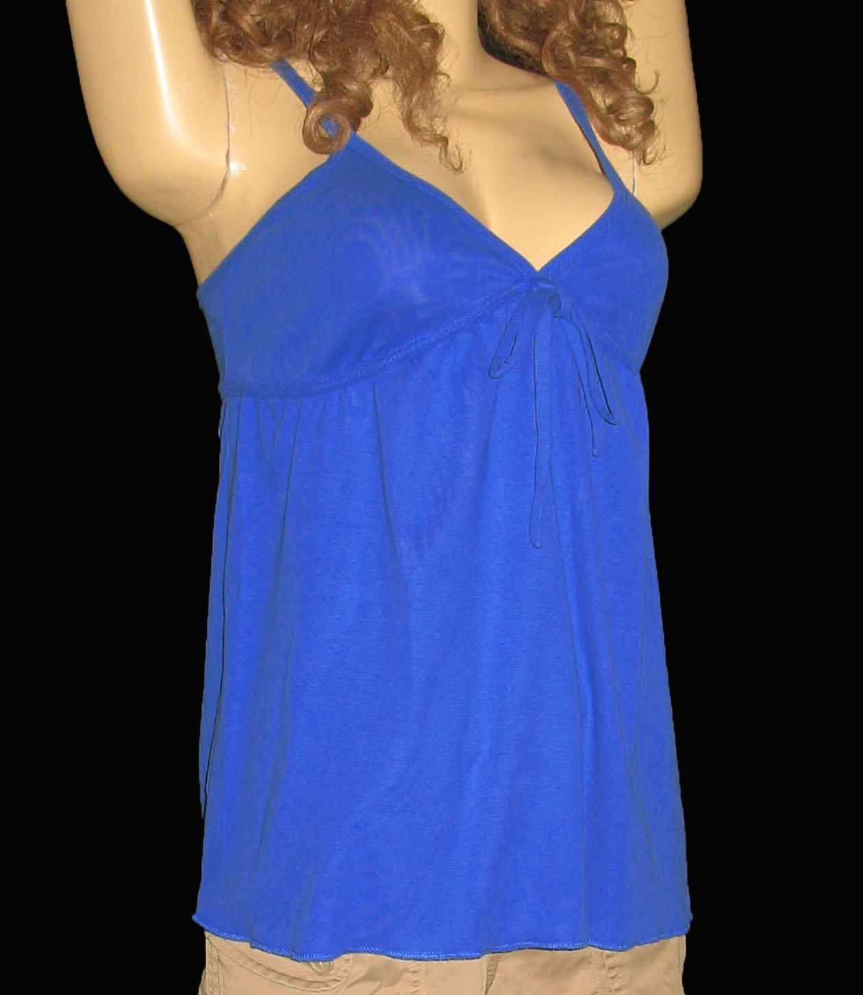 Victoria's Secret Blue Babydoll Cami Tank Top Size Medium 184292