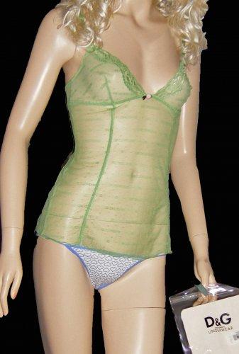 NWT Dolce & Gabbana Day into Night Camisole Panty Set XS/Small  194687