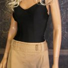 Victoria's Secret Beige Khaki Mini Skirt Swimsuit Cover-Up Size 14  209683