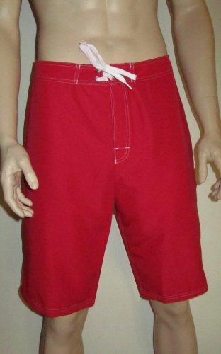 NWT Hanes Men's Swimwear Swim Shorts Wet'n Dry Board Shorts Swim Trunks size 36