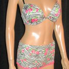 Victoria's Secret Love PINK $72 Heartbreaker Plunge Push-Up Multiway 34D Bra Set 272257 291611