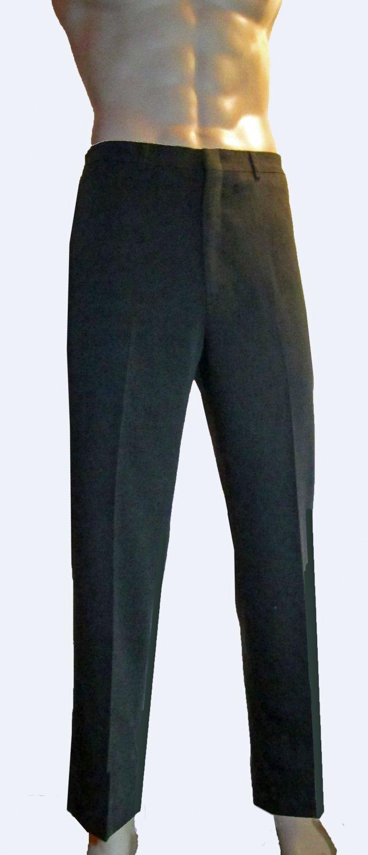 NWT Haggar $100 Premium Stretch Plain Front Brown Pant 36 x 30 81715