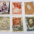 6 - 1930s Russia Stamps Various Types