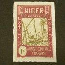 1926  France ,  Niger  1c
