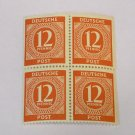 1946 Germany Block Of 4 , Allied Military Zones , Unused