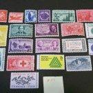 20 - Vintage 1930s-70s US Postage , 3 , 4,  5 ,  Cent Unused