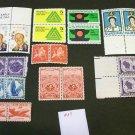 20 - Vintage 1940s-60s US Postage , 3 , 4 , 5 , 6  Cent Unused