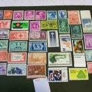36 - Vintage 1940s-70s US Postage 2 , 3 , 4 , 5 , 6 , 8  Cent Unused
