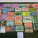 36 - Vintage 1930s-70s US Postage 2 , 3 , 4 , 5 , 6 , 8  Cent Unused