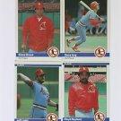 1984 Fleer #326 Dane Iorg St. Louis Cardinals Baseball Cards Card
