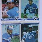 1984 Fleer #168 Willie Upshaw Blue Jays