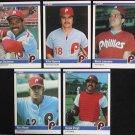 1984 Fleer #26 Ivan Dejesus Phillies
