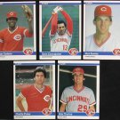 1984 Fleer Dave Concepcion #466 Reds