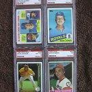 1976 TOPPS #649 DAVE ROBERTS HOUSTON ASTROS PSA NEAR MINT 7 baseball card cards