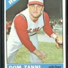 1966 Topps #233 Dom Zanni Reds Baseball Cards Card