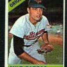 1966 Topps #105 Milt Pappas Orioles Baseball Cards Card