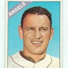 1966 Topps #152 Frank Malzone Angels Baseball Cards Card
