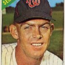 1966 Topps #165 Don Lock Senators Baseball Cards Card