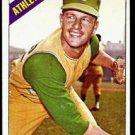 1966 Topps #201 Jim Dickson Kansas City A's Baseball Cards Card