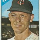1966 Topps #73 Jerry Zimmerman Twins Baseball Cards Card