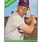 1966 Topps #29 Mike Brumley Senators Baseball Cards Card