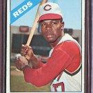1966 Topps #214 Tommy Harper Reds Baseball Cards Card