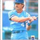 1984 Fleer #353 Greg Pryor Baseball Cards Card