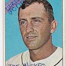 1966 Topps #28 Phil Niekro Braves Baseball Cards Card