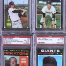 TOPPS 1971 #114 BILLY CONIGLIARO Baseball Cards Card Rare Vintage Old PSA CERTIFIED