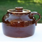 Brown Clay Pot with Lid