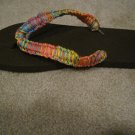 Hand made decorated Flip Flops