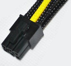 Graphics 6Pin extend cable