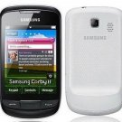 Unlocked Samsung Anycall S3850 Corby II Touchscreen Cell Phone----red,white,black,yellow