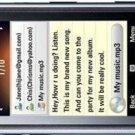 LG GM750 UNLOCKED 3G GPS WIFI 5MP GSM CELL PHOHE---Black