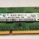 ASUS Lenovo Dell HP Toshiba  Samsung 2G DDR3 1333 notebook memory
