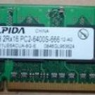 Compaq516 notebook memory 1G DDR2 800 memory