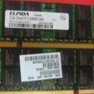 Compaq Presario CQ61 2GB DDR800 notebook memory