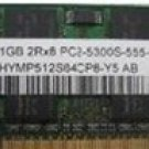 DELL 131L, D410, D420, D430, D510, D610, D631, laptop memory 1GB