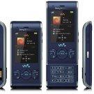 UNLOCKED SONY ERICSSON  W595 3MP  CELL PHONE--Black,Blue,Pink